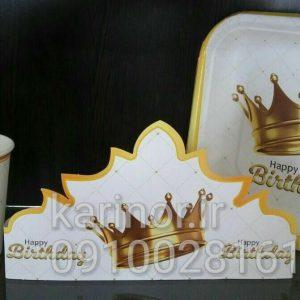 فروش تم تولد تاج سفید پادشاهی