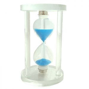 ساعت-شنی-شیشه ای