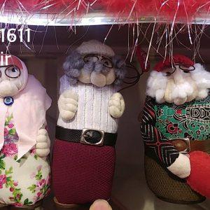 عروسک-پیرمرد پیرزن