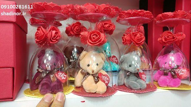 جعبه-گل و خرس
