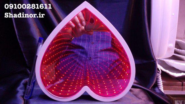 قلب سه بعدی چراغدار