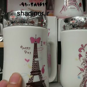 ماگ درب اینه ای پاریس