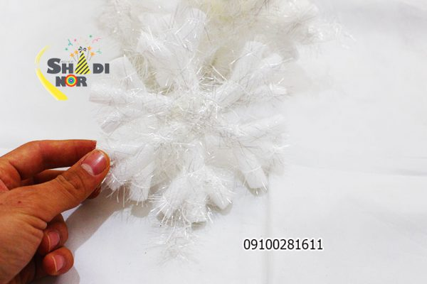برف تزئینی کریسمس - فروش عمده لوازم کریسمس و درخت و بابانوئل پخش کلی