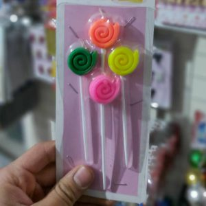 خرید اینترنتی شمع های رنگی و طرح های زیبا مدل ایستاده مناسب جشن ها و تولد ها