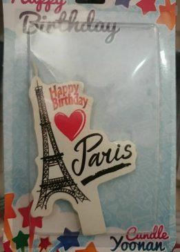 فروش آنلاین شمع تم شهر پاریس و تم سبیل مناسب جشن ها و تولد ها