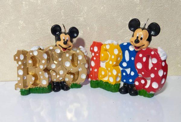 فروش اینترنتی شمع موش های رنگی و زیبا مناسب سال جدید 1399 برای سفره نوروز