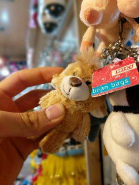 انواع عروسک آویزانی بامزه کوچک طرح خرس ، زرافه ، هاپوی خندان ، موش