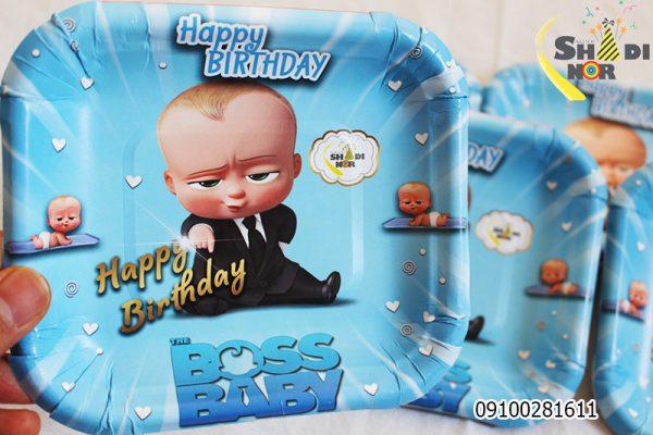 تم تولد بچه رئیس