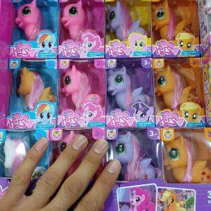 سفارش عمده اسباب بازی عروسک پونی در کاریشاپ