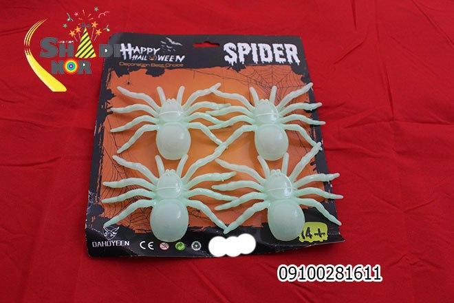 سفارش عمده لوازم هالووین محصول عنکبوت شبتاب