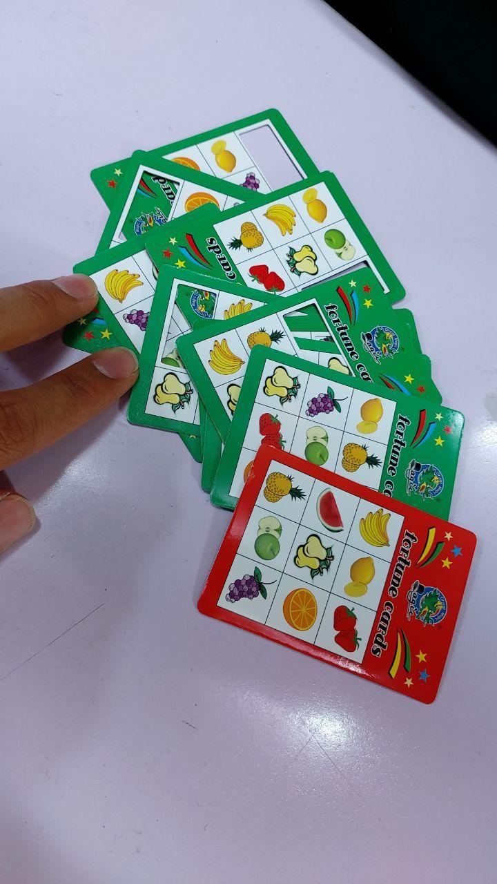 سفارش عمده لوازم شعبده بازی محصول کارت تشخیص میوه