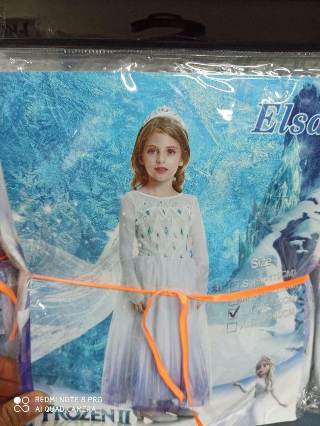 فروش عمده لوازم هالووین لباس عنکبوتی دخترانه و لباس السا