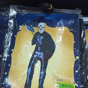 خرید عمده لوازم هالووین لباس پسرانه طرح ومپایر و اسکلتی