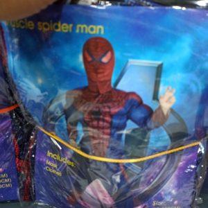 خرید عمده لوازم هالووین لباس پسرانه طرح دزد دریایی و مرد عنکبوتی عضلانی