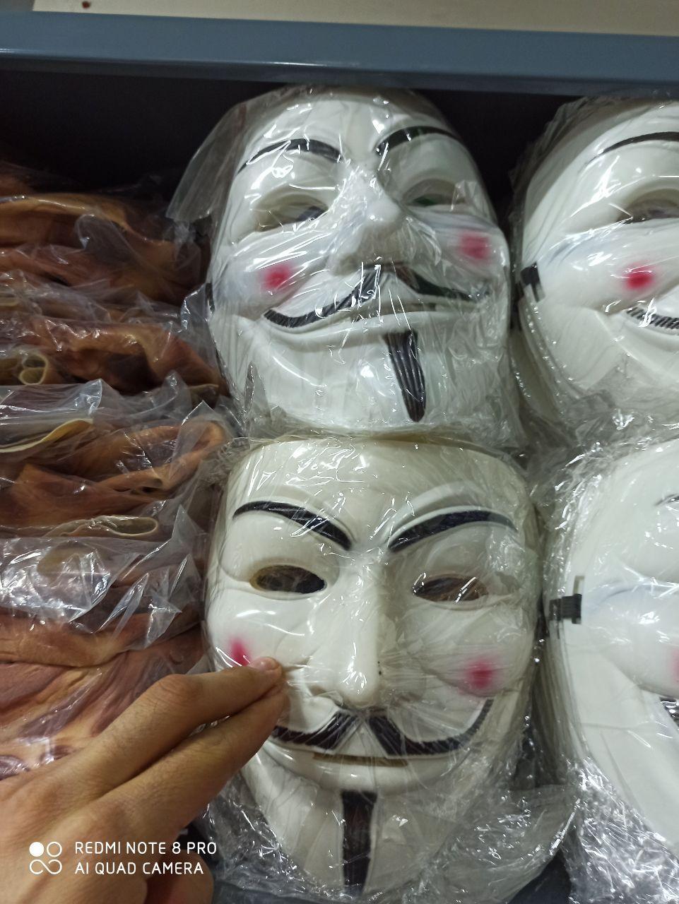 خرید عمده لوازم هالووین ماسک وی و فردی
