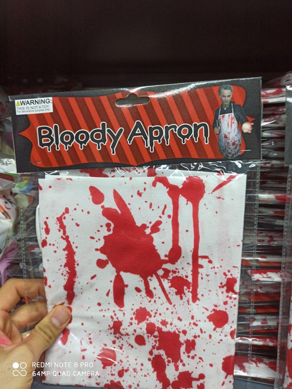 قیمت عمده لوازم هالووین پیش بند قاتل و نوار خطر هالووین