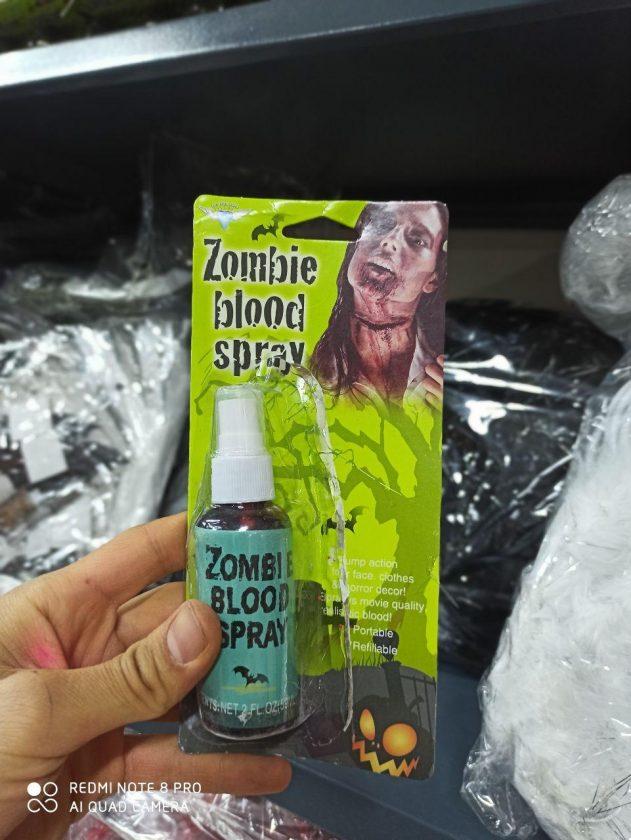 فروش عمده لوازم هالووین ناخن جادوگر و خون مصنوعی