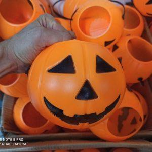 خرید عمده لوازم هالووین انواع سطل هالووین