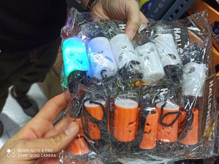 سفارش عمده لوازم هالووین انواع شمع ال ای دی هالووین