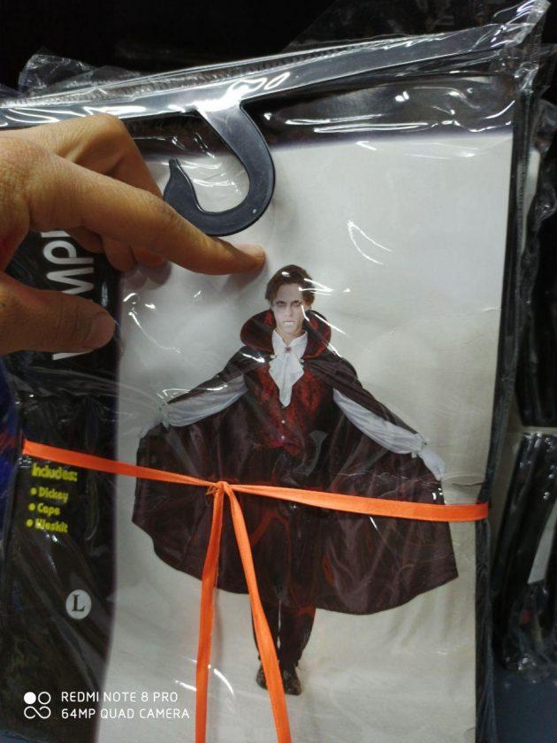 خرید عمده لوازم هالووین لباس دویل و دراکولا مردانه