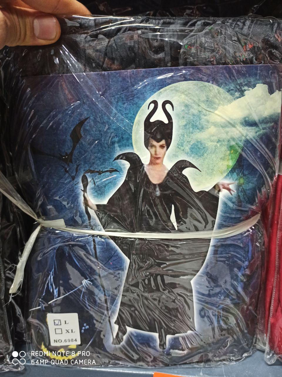 پخش عمده لوازم هالووین لباس هارلی کویین و مالفیسنت