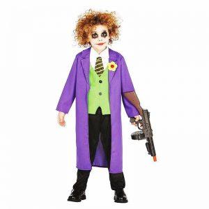 قیمت عمده لوازم هالووین لباس جوکر بزرگسال و کودکان