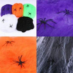 پخش عمده لوازم هالووین بالن و تار عنکبوت هالووین