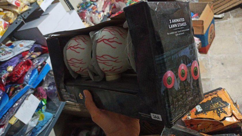 قیمت عمده لوازم هالووین چشم نورانی ، نقاب بالماسکه هالووین