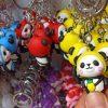 فروش آنلاین عمده جاسوئیچی طرح خرس چشم دکمه ای و خرسی